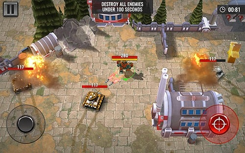 Robots Battle Arena: Mech Shooter Android Game Image 2