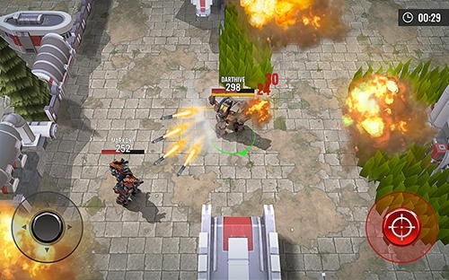 Robots Battle Arena: Mech Shooter Android Game Image 3
