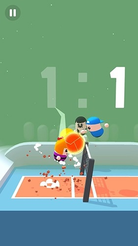 Volley Beans Android Game Image 3