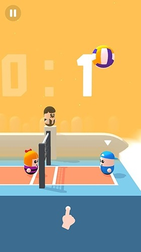 Volley Beans Android Game Image 4
