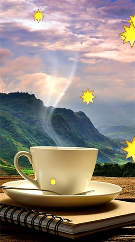 Cup Of Coffee Android Wallpaper Image 1