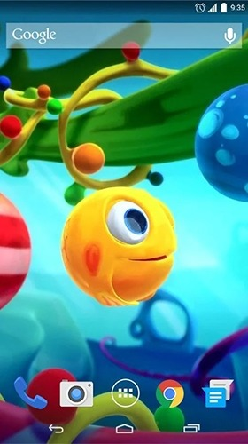 Funny Little Fish Android Wallpaper Image 2