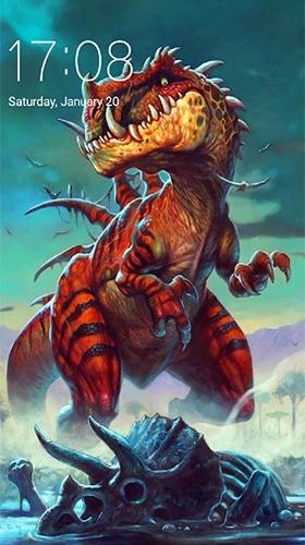 Dinosaur Android Wallpaper Image 1