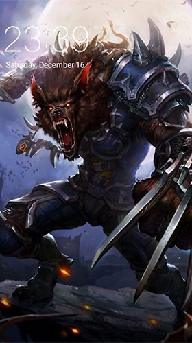 Werewolf Android Wallpaper Image 1