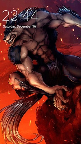 Werewolf Android Wallpaper Image 2