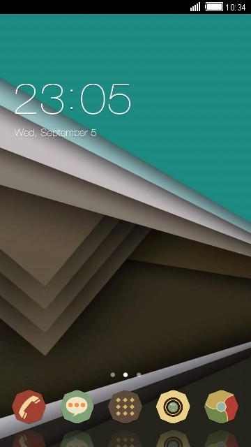 Material Design CLauncher Android Theme Image 1