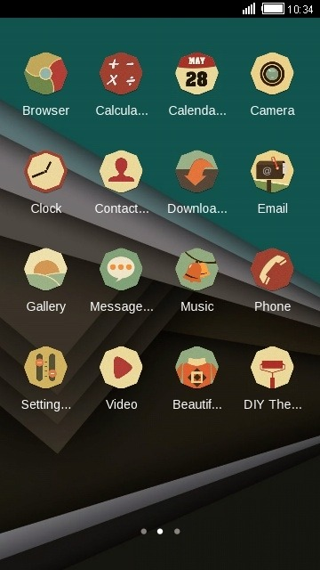 Material Design CLauncher Android Theme Image 2