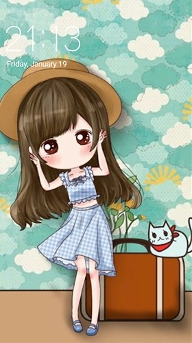 Cute Profile Android Wallpaper Image 1