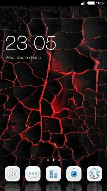 Lava CLauncher Android Theme Image 1