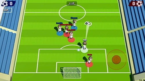 Real Time Champions Of Soccer Android Game Image 2