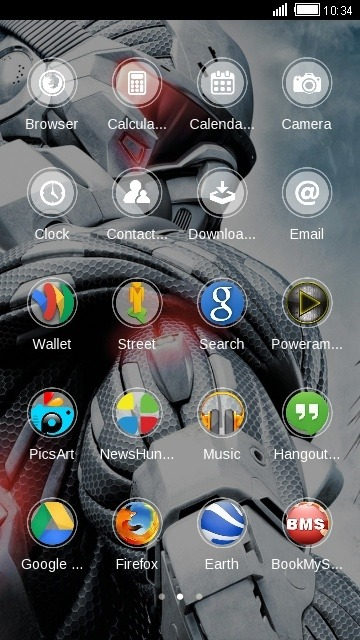 Bot CLauncher Android Theme Image 2