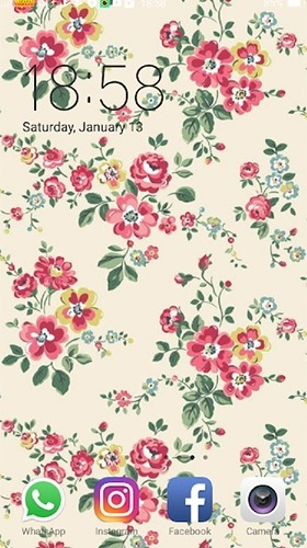 Floral Android Wallpaper Image 1
