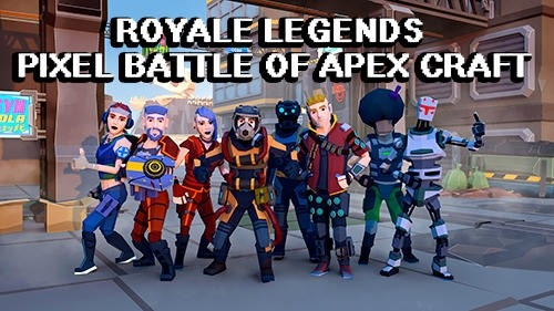 Royale Legends: Pixel Battle Of Apex Craft Android Game Image 1