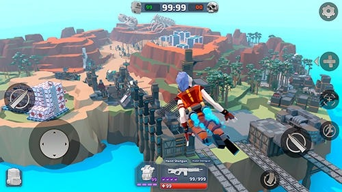 Royale Legends: Pixel Battle Of Apex Craft Android Game Image 4