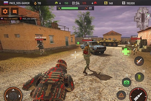 Striker Zone: 3D Online Shooter Android Game Image 2