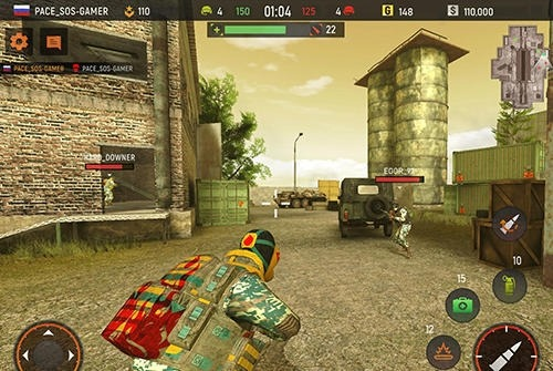 Striker Zone: 3D Online Shooter Android Game Image 3