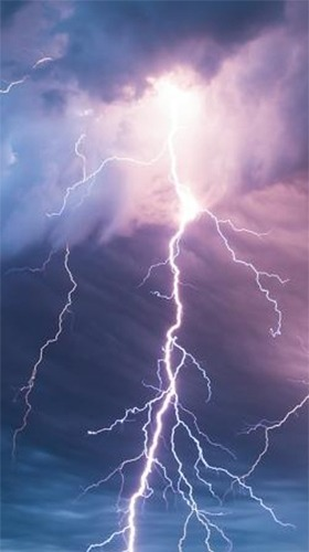 Thunderstorm 3D Android Wallpaper Image 3