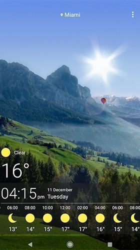 Weather Android Wallpaper Image 1