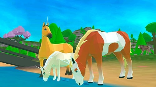 Unicorn Family Simulator 2: Magic Horse Adventure Android Game Image 2