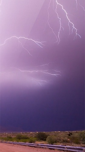Lightning 3D Android Wallpaper Image 3