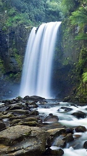 Waterfall Android Wallpaper Image 2