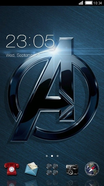 Avengers CLauncher Android Theme Image 1