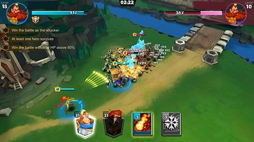 Brave Conquest Android Game Image 2