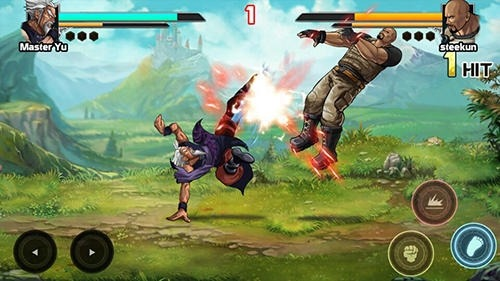 Mortal Battle: Street Fighter Android Game Image 2