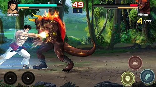 Mortal Battle: Street Fighter Android Game Image 3