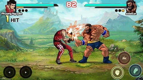 Mortal Battle: Street Fighter Android Game Image 4