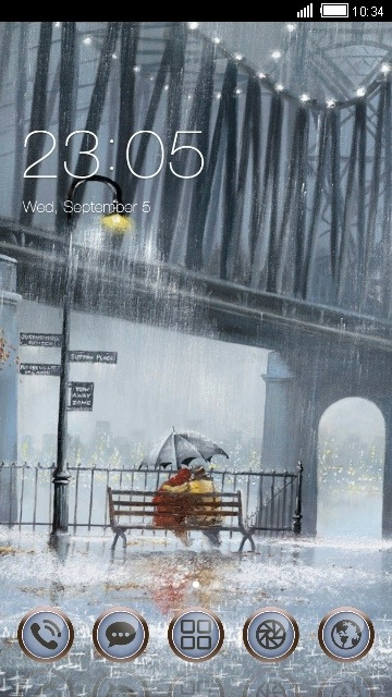 Love CLauncher Android Theme Image 1