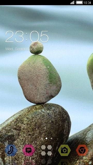 Rocks CLauncher Android Theme Image 1