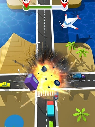 Traffic Rush 3D Android Game Image 4