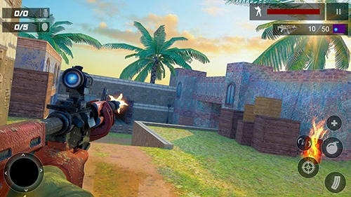 US Special Ops: Terrorist War Mission Android Game Image 2