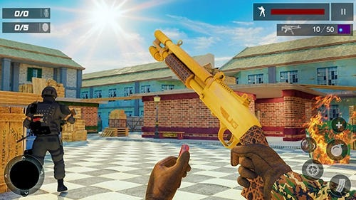 US Special Ops: Terrorist War Mission Android Game Image 3