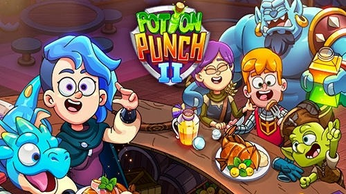 Potion Punch 2: Fantasy Cooking Adventures Android Game Image 1