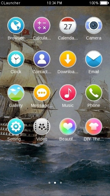 Sailor CLauncher Android Theme Image 2