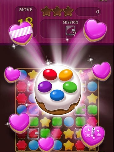 Cookie Crunch Classic Android Game Image 2