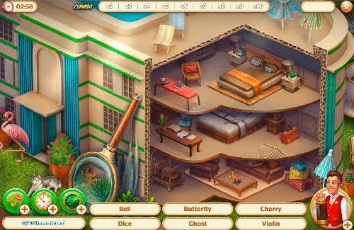 Hidden Hotel: Miami Mystery Android Game Image 3