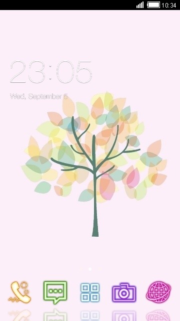 Tree CLauncher Android Theme Image 1