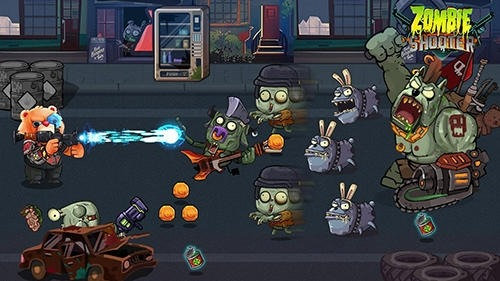 Bear Gunner: Zombie Shooter Android Game Image 2