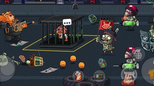 Bear Gunner: Zombie Shooter Android Game Image 3