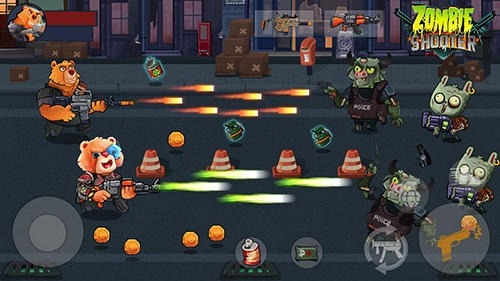 Bear Gunner: Zombie Shooter Android Game Image 4