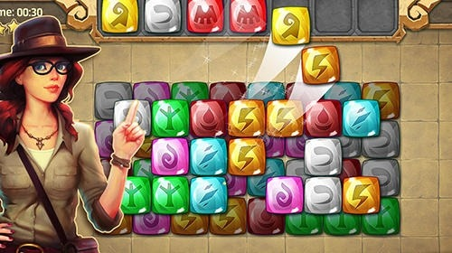 Jones Adventure Mahjong: Quest Of Jewels Cave Android Game Image 2