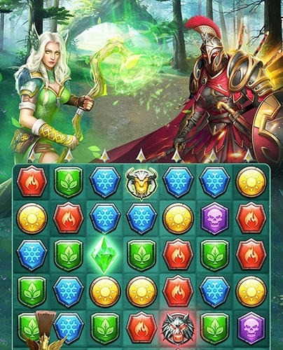 Myth Wars And Puzzles: RPG Match 3 Android Game Image 2