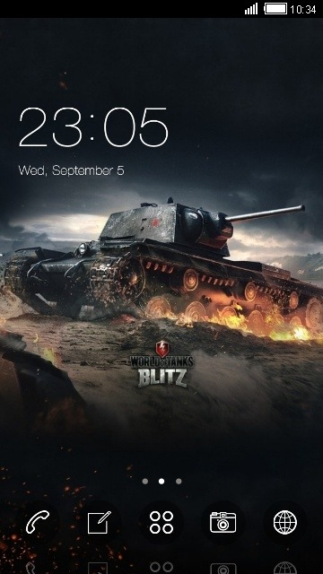 Tank CLauncher Android Theme Image 1