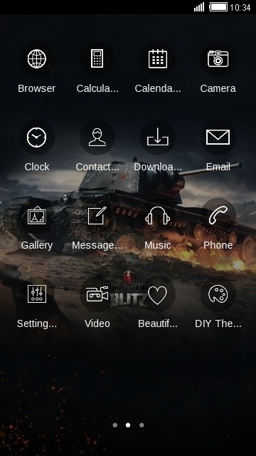 Tank CLauncher Android Theme Image 2