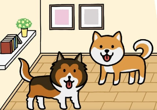Dog Game: Cute Puppy Collector Android Game Image 2