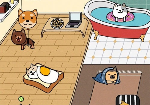 Dog Game: Cute Puppy Collector Android Game Image 4