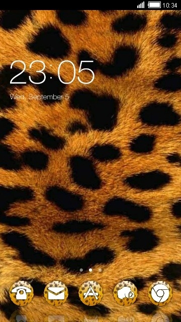 Leopard CLauncher Android Theme Image 1